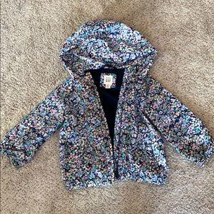 Baby gap girls rain jacket size 2T